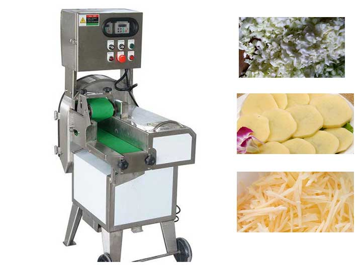commercial vegetable cutting machine for restaurant