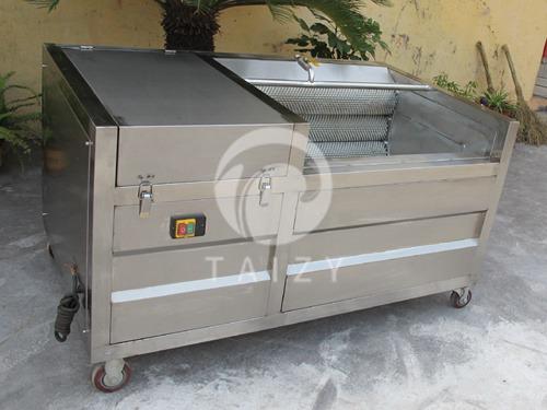 potato brush cleaning machine (2)