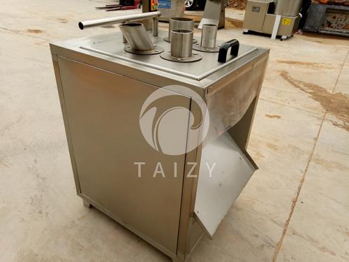 Banana slicing machine (10)