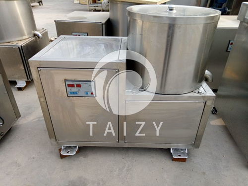 Dewater deoil machine for vegetable, fried food
