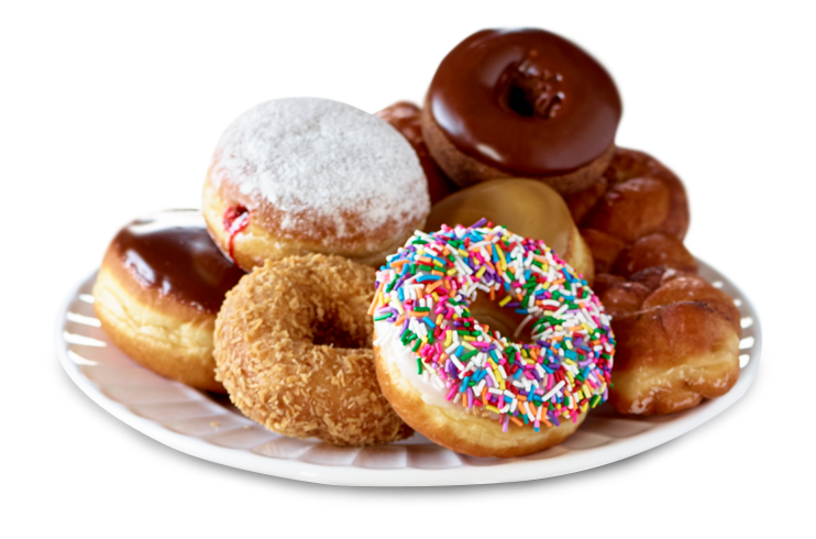 Donuts deep frying machine