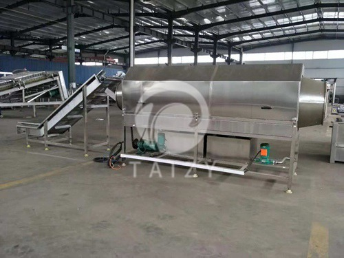 Drum cleaning machine (5)