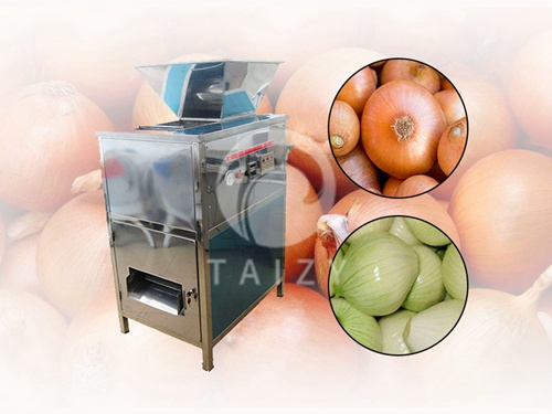 Full automatic onion skin peeling machine with stainless steel (1)