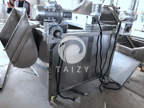 Fully automatic frying machine (2)