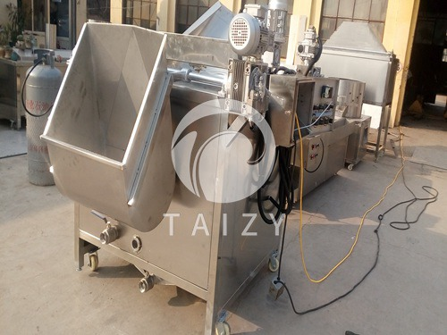 Fully automatic frying machine