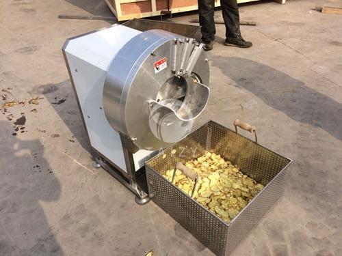 Ginger slicer machine15