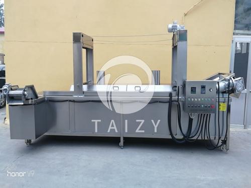 Frying Machine with Mesh Conveyer