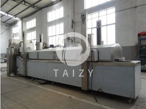 Mesh conveyer frying machine (3)