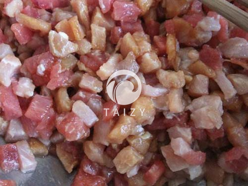 meat dicing