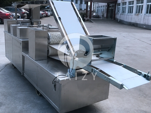 Biscuit Molding machine with Roller cutter & dough reuse