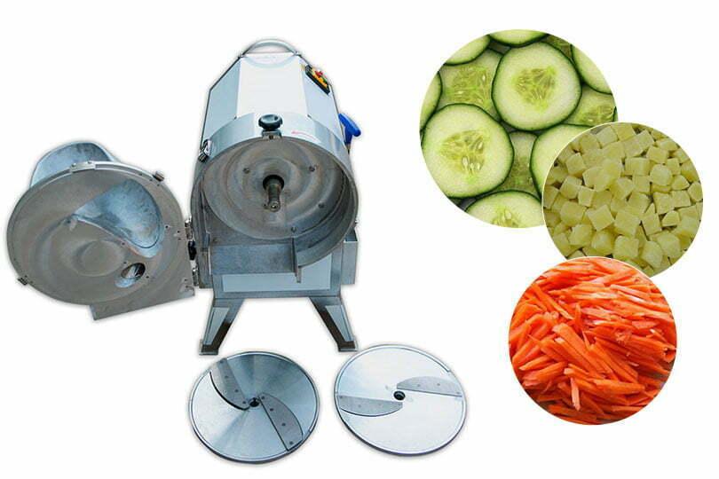 bulbous vegetable cutting machine