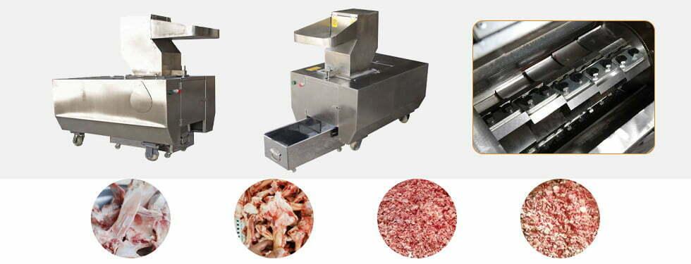 commercial bone crushing machine