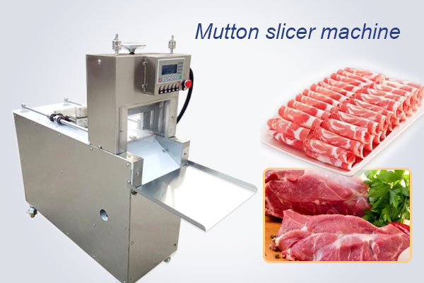 commercial mutton beef roll cutting machine