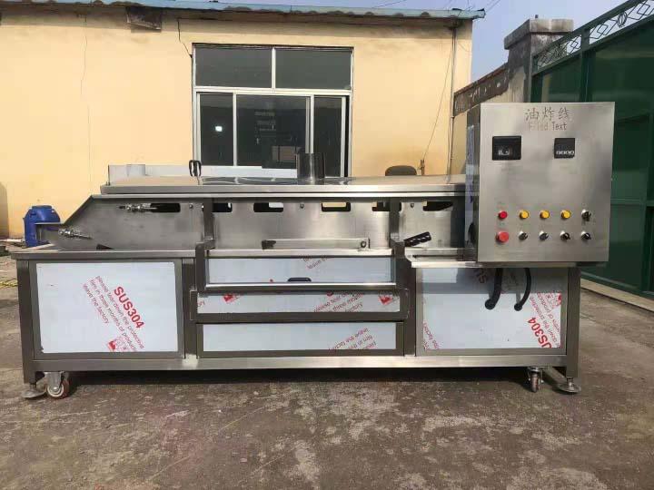 continuous industrial fryer machine