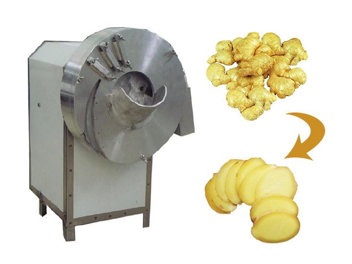 ginger slicing cutting machine