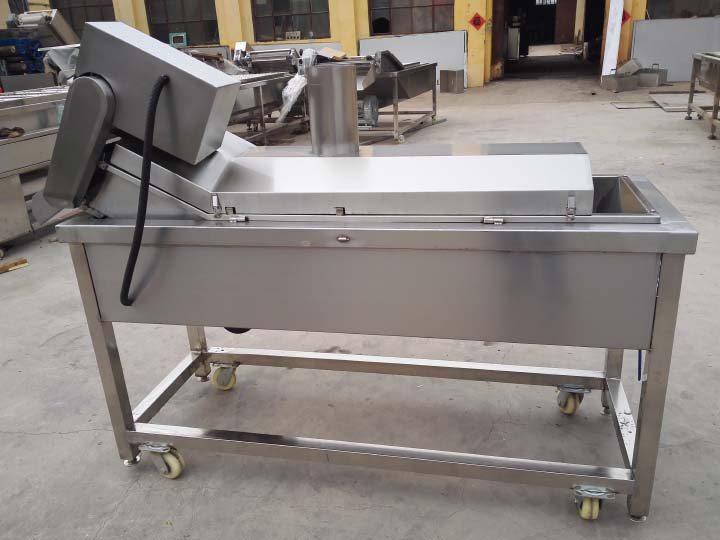industrial chips frying machine