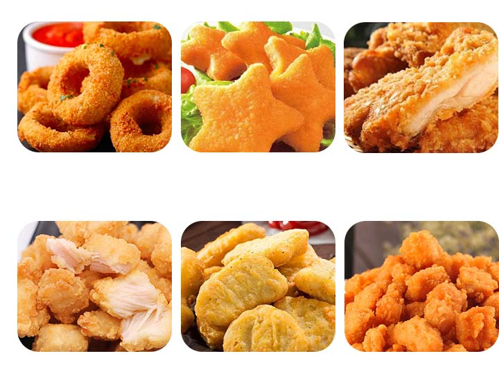 industrial continuous fryer machine application