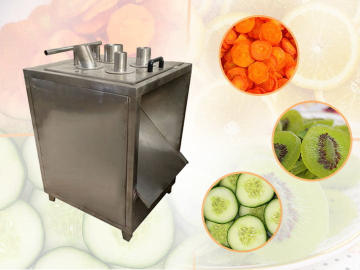 industrial fruit vegetable slicing machine