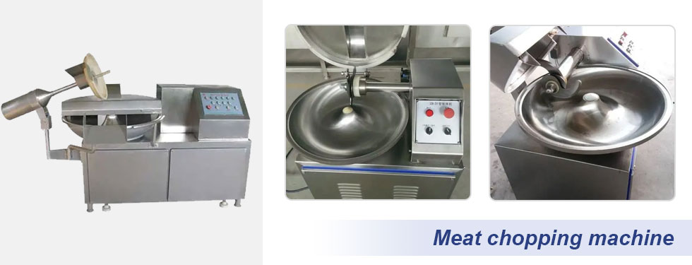 meat bowl cutting and chopping machine details