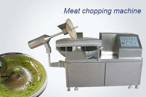 meat chopping mixing machine
