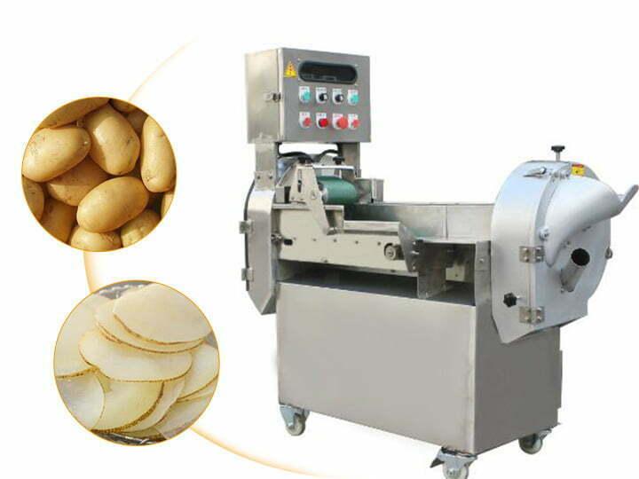 multi-functional potato slicer machine