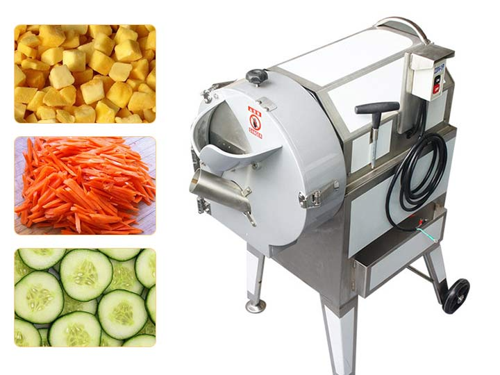 root vegetable cutting slicing machine