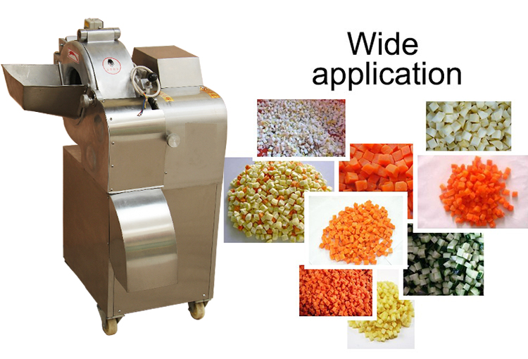 vegetable and fruits dicing machine