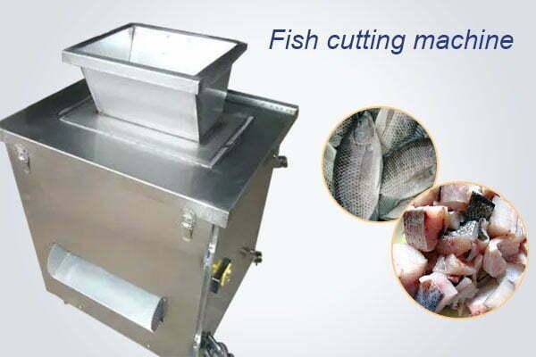 automatic fish cutting machine