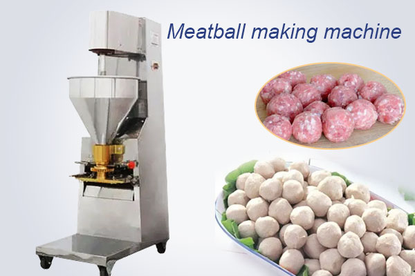 commercial meatball making machine