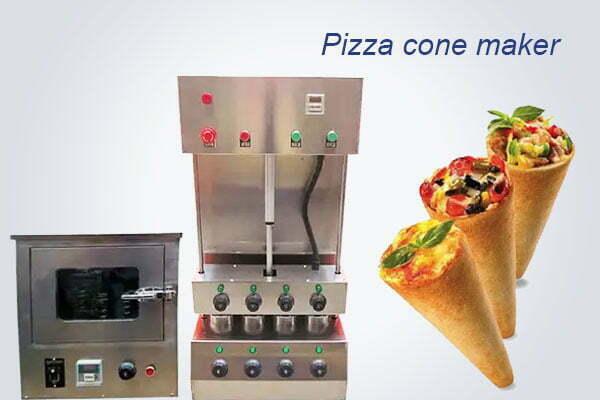 pizza cone maker machine
