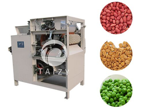 almond peeling machine