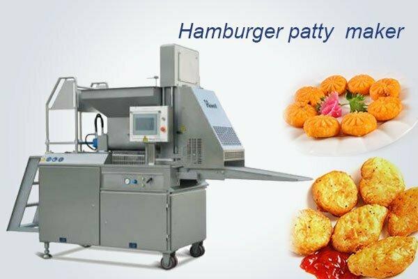 commercial hamburger patty maker