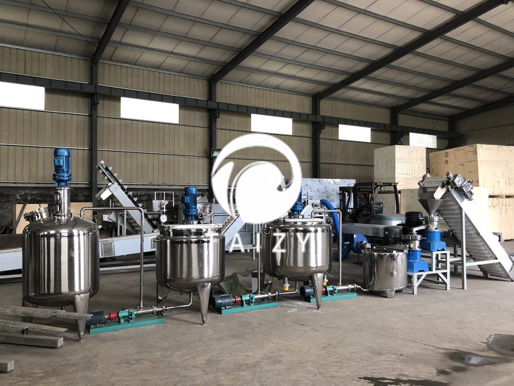 automatic peanut butter production line