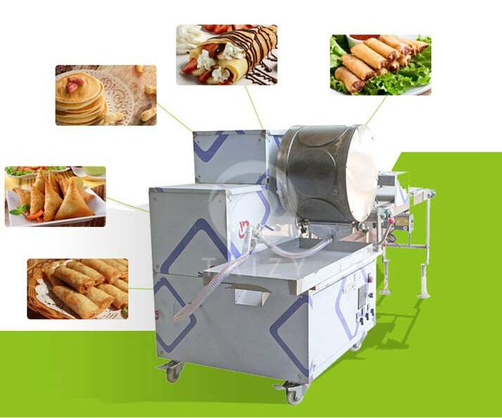 spring roll machine application