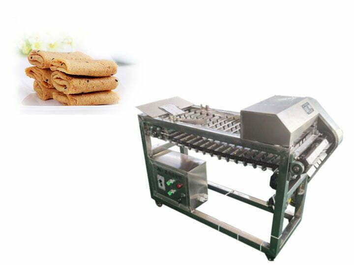 biscuit rolls cutting machine