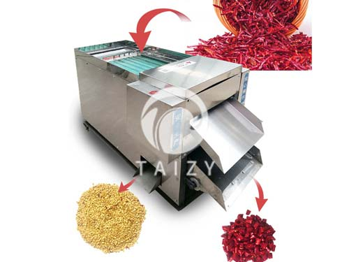 chili cutting machine