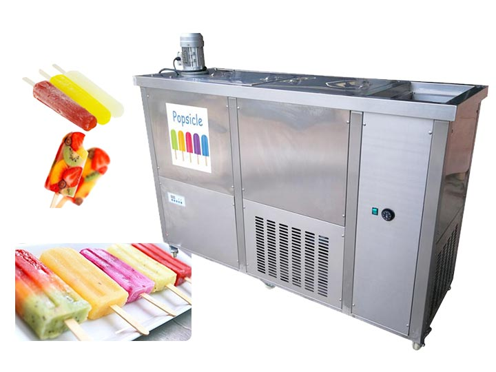 commercial ice popsicle machine