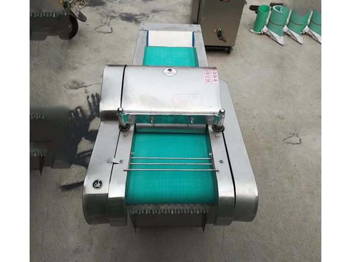 commercial leafy vegetable cutting machine
