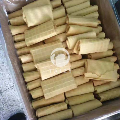 biscuit rolls produced by rolls maker machine