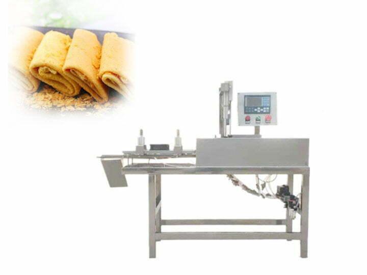 egg rolls folding machine