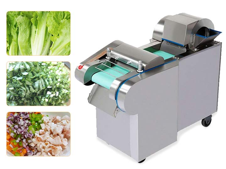 green leafy vegetable cutting machine