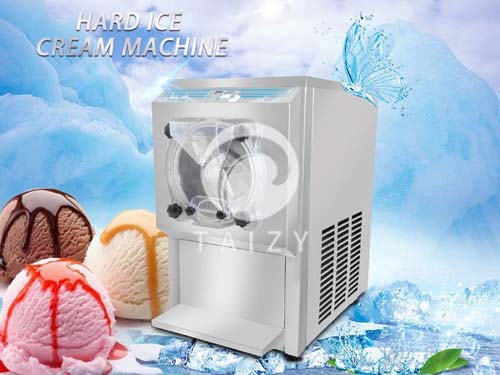 hard ice cream machine