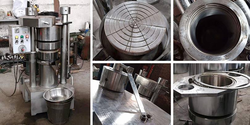 hydraulic oil making machine details