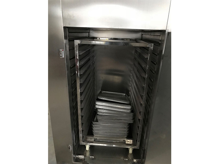 industrial food dryer structure