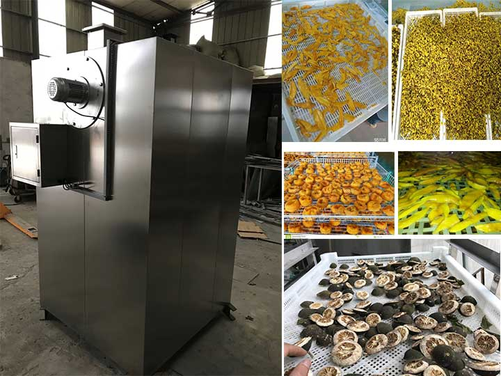 industrial hot air food drying machine