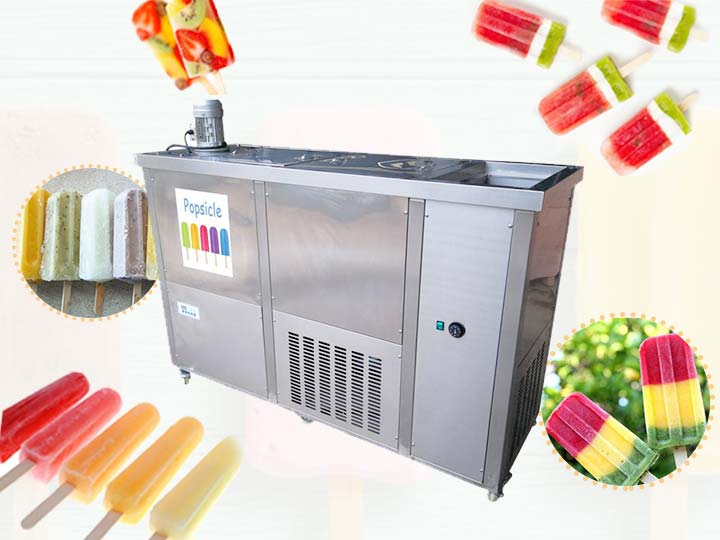 industrial ice popsicle machine for business