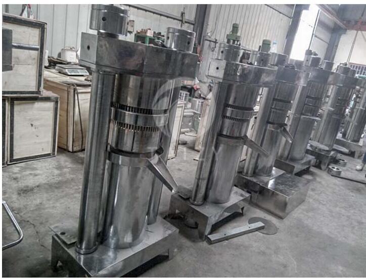 hydraulic oil press machine export to Austria