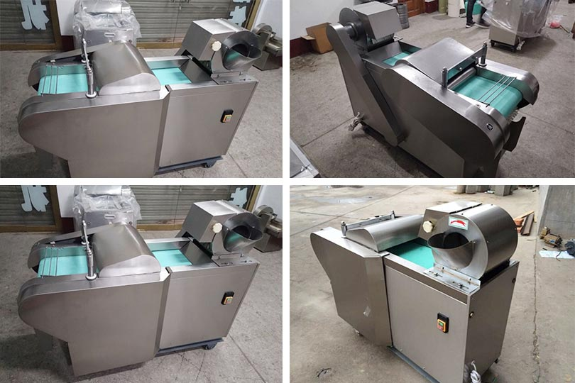 restaurant automatic leafy vegetable cutter in stock