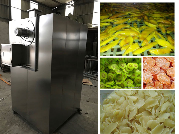 stainless tray food dryer machine