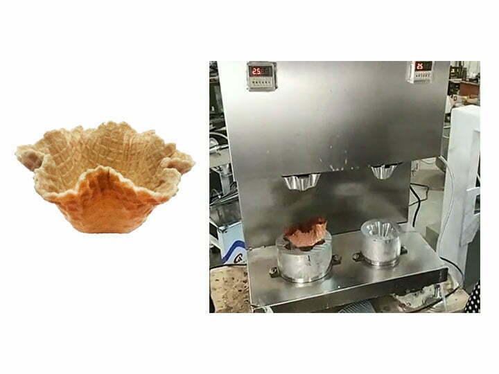 waffle bowl making machine